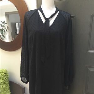 J Crew Black Dress Size 10